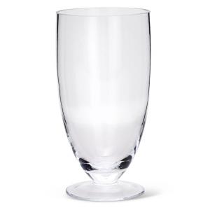 Vaso in vetro cm.28h diam.14