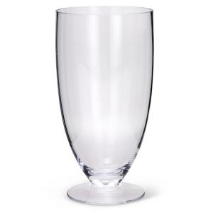 Vaso in vetro cm.34h diam.17,5