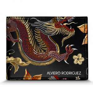 Portefeuilles pour homme Alviero Rodriguez JAPANASE DRAGON PORTAFOGLI JD Unico