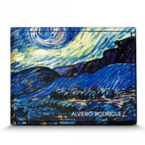 Man wallet Alviero Rodriguez NOTTE STELLATA PORTAFOGLI NS Unico