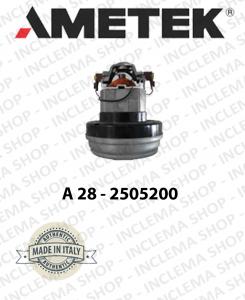 Motore di aspirazione AMETEK ITALIA A28 - 2505200 per aspirapolvere