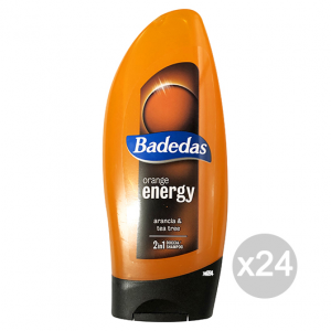 BADEDAS Doc/Shampoo orange energy 250 ml. - Doccia schiuma