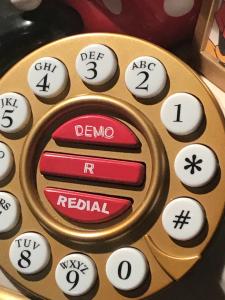 TELEFONO MINNIE ANNI 90