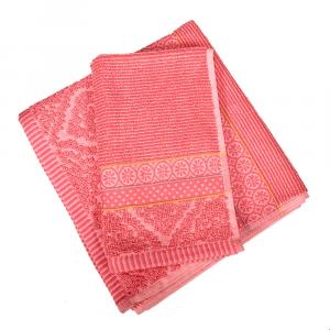 Set 1+1 asciugamano e ospite PIP STUDIO Soft Zellige corallo