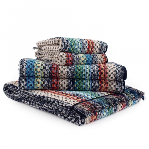 Missoni Home Towels 1 bath sheet + 2 bath towels + 2 hand towels VIRGINIO 603