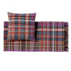 Plaid Missoni Home 130x190 cm WHITAKER 100 multicolore chevron misto lana