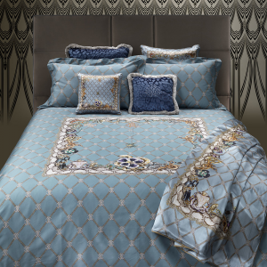 Roberto Cavalli set of double sheets in cotton satin NEW SPIDER