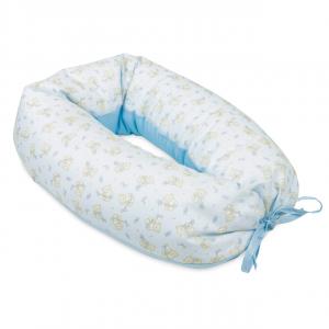 Cuscino allattamento multiuso Smile fantasia orsetto con palloncino azzurro related image