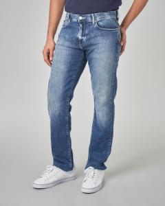 Jeans j16 lavaggio marmorizzato
