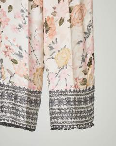 Pantalone palazzo stampa floreale 10 anni