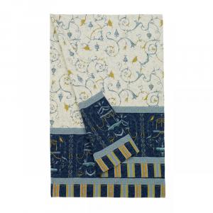 Bassetti Granfoulard Telo arredo Copritutto OPLONTIS 9 350x270 cm Blu