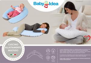 Cuscino allattamento multiuso Smile fantasia testina orsetto  beige related image
