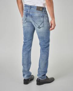Jeans 529 della linea RRS lavaggio super stone wash