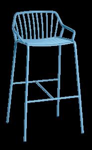 Sedie e sgabelli in metallo Ada