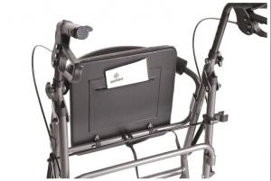 Deambulatore Rollator con seduta imbottita