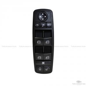 Pulsantiera Interruttore Per Funzione Alzacristalli Elettrico Alzavetri Auto Mercedes Oem A1698206710-1698206710 - A 169 820 67 10 Console Colore Nero Materiale Abs Window Switch