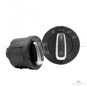 Manopola Interruttori Controllo Fari E Luce Fendinebbia Per Auto Volkswagen Compatibile Con 5Nd941431B 3C8941431A
