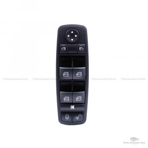 Pulsantiera Interruttore Per Funzione Alzacristalli Elettrici Alzavetri Auto Mercedes Oem A1698206610-1698206610 - A 169 820 66 10 Console Colore Nero Materiale Abs Window Switch