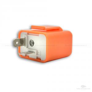 2 Relè 12V Lampeggio Frecce Led Indicatori Direzione 2 Pin Universale Auto Moto Confezione Da 2 Pezzi