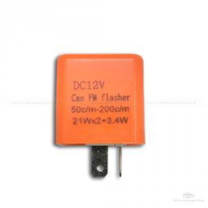 5 Relè 12V Lampeggio Frecce Led Indicatori Direzione 2 Pin Universale Auto Moto Confezione Da 2 Pezzi