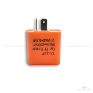4 Relè 12V Lampeggio Frecce Led Indicatori Direzione 2 Pin Universale Auto Moto Confezione Da 2 Pezzi