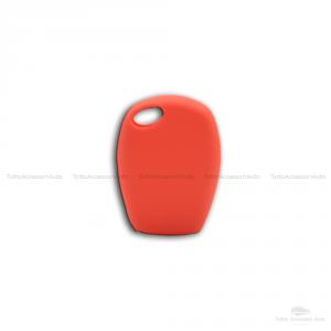 Cover Guscio Colorato Case Materiale Silicone Morbido Per Scocca Chiave Telecomando 2 Tasti Auto Dacia Logan Sandero Duster Express Vari Colori (Rosso)