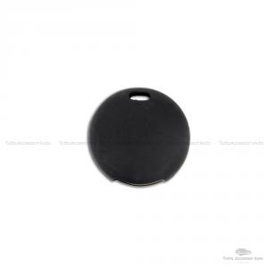 Cover Guscio Colorato Case Materiale Silicone Morbido Per Scocca Chiave Telecomando 3 Tasti Autovetture Smart 450 Fortwo Coupe' Vari Colori (Nero)