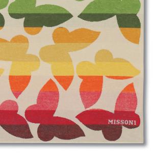 Missoni Home beach towel JAMELIA 100 butterflies 100x180 cm pure cotton