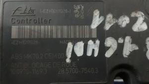 Aggregato ABS usato originale Citroen C3 1.6 HDI 16V