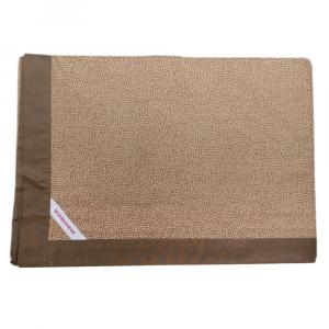 Granfoulard telo arredo copritutto Borbonese in percalle OPLA' 270x290 cm cammello