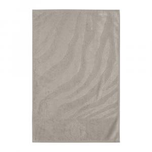 Roberto Cavalli telo bagno ZEBRAGE spugna di puro cotone - sabbia
