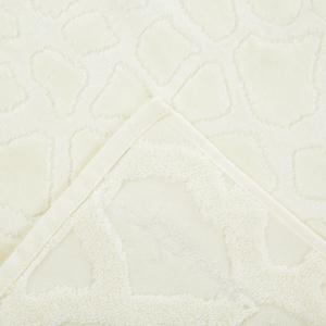 Roberto Cavalli hand  towel+bath towel JERAPAH pure cotton - ivory
