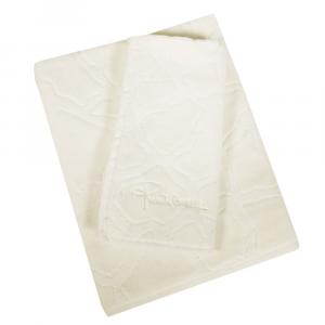 Roberto Cavalli set 1+1 asciugamano e ospite JERAPAH spugna di cotone - avorio