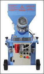 Intonacatrice Rev Dry 380v per premiscelati asciutti con accessori