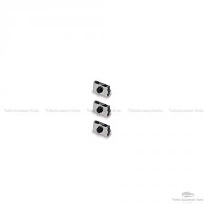 Kit Chiave + 3 Micro Switch Cover Guscio Scocca E Lama Per Telecomando E Tasti Autovetture Smart Fortwo 450 Compatibile No Logo No Trasponder No Elettronica Case + Lama + Micro Pulsanti