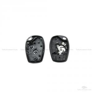 Guscio Scocca + Lama + Micropulsanti Telecomando Chiave 2 Tasti Dacia Logan Duster Con Microswitch