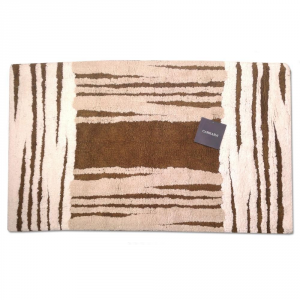MANCHESTER brown terry bath rug 50x80 cm Carrara
