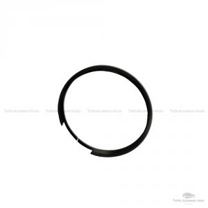 Anello Decorativo Cover Ring Per Auto Mini Cooper One D S Countryman In Alluminio Guscio Scocca Telecomando Chiave Portachiavi (Nero)