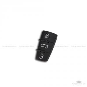Tastiera Pad Pulsanti Gommino 3 Tasti Ricambio Per Telecomando Guscio Chiave Audi A1 A3 A4 A5 A6 A8 S4 S5 Q5 Q7 Ricambio Per Scocca Chiavi Auto Cover Membrana