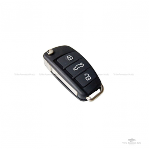 Chiave Cover Guscio Scocca E Lama Telecomando 3 Tasti Per Autovetture Audi A1 A3 A4 A6 A8 Q5 Q7 Tt Vano Batterie Cr2032 Ricambio Compatibile No Logo No Trasponder No Elettronica