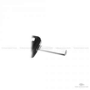 Guscio Scocca Cover Chiave Telecomando 4 Tasti Auto Peugeot 807 1007 E Altri Modelli Con Lama Senza Scanalatura Alloggio Batteria Ce0523