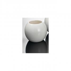 Sfera bianca in ceramica cm.7h diam.8
