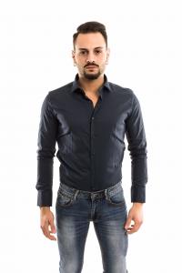 Camicia Basic slimfit - colore Blu