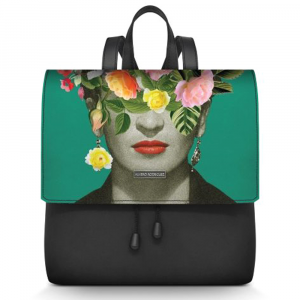 Backpack Alviero Rodriguez FRIDA FLOWERS ZAINETTO FF Unico
