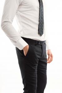 Pantalone slimfit Classico - colore Blue