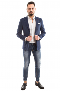 Giacca slimfit Casual Chic