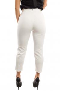Pantalone vita alta - colore Bianco