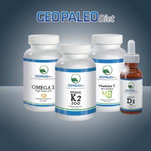 PREVENDITA- SUPER COMBO: Primal K2 + Savana D3 + Omega3 + Vitamina C Ph Control 48