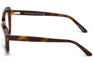 Balenciaga - Occhiale da Vista Unisex, Marrone (Avana) BA5076 C51