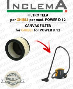POWER D 12  FILTRO CARTUCCIA PER aspirapolvere GHIBLI
